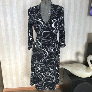 Alyn Paige Mock Wrap Dress